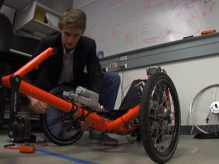 Students Develop Self-Driving Trike