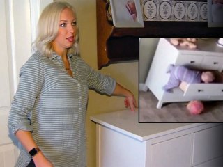 Nanny Cam Shows Dresser Toppling Onto Twin Boys