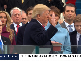 WATCH LIVE: The Inauguration of Donald Trump