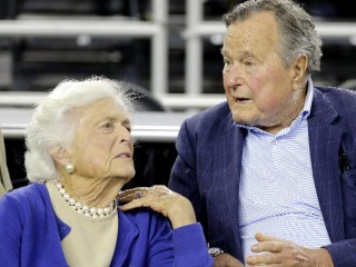 George H.W. Bush moved to intensive care; Barbara Bush also hospitalized