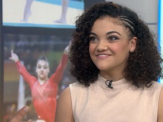 Gymnast Laurie Hernandez Shares Sweet Family Story about Olympic Trials