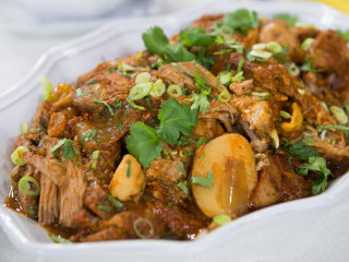 Curtis Stone's perfect slow-cooker pork roast recipe, plus party tips!