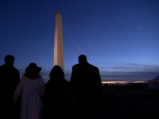 Two Families' Journey to the Inauguration to Witness History
