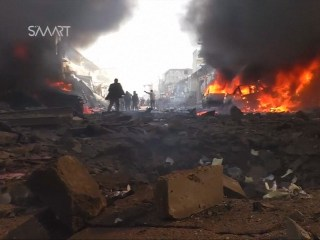 Tanker Explosion Kills 48 in Syrian Rebel-Held Town