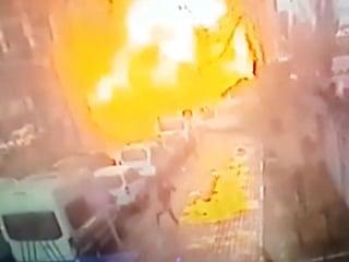 Surveillance Video Captures Deadly Car Bomb Attack