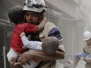 Founder of White Helmets Celebrates Oscar Win on Social Media