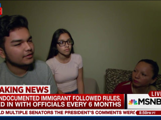 'This Is The Face of Deportation': Deported Mom Talks to MSNBC