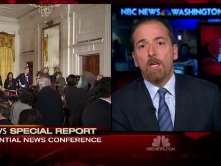 Chuck Todd :Trump's Anti-Media Stance Not Playing Well in Washington