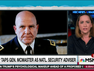 New National Security Adviser Pick Known for Speaking Truth to Power