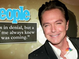David Cassidy Says He 'Always Knew' That Dementia Was Coming