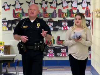 Inspiring America: Cop Helps Fifth-Grader With Math Homework