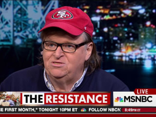 Michael Moore explains how to stop Donald Trump