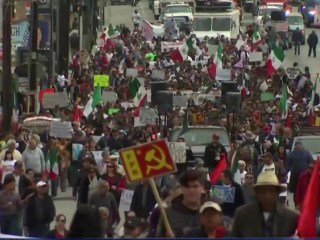 Mexicans Take to Streets for Sixth Straight Weekend to Protest Gas Prices