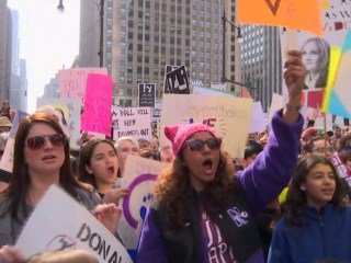 'Not My President's Day' Rallies Draw Anti-Trump Crowds Worldwide