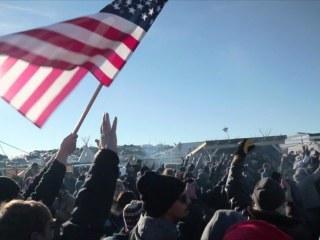 Many Dakota Pipeline Protesters Make Last Stand as Deadline Passes