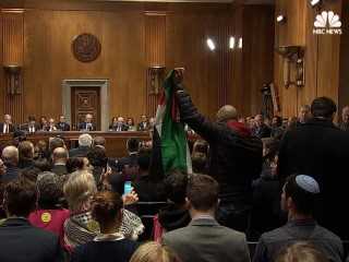 Protesters Interrupt Nominee for Ambassador to Israel at Senate Hearing