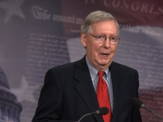 McConnell 'Not A Great Fan' of Trump's Twitter Habit