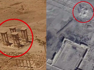 ISIS Destruction of Palmyra Laid Bare in New Drone Video
