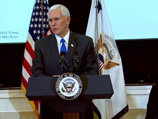 VP Pence Holds Listening Session With Historically Black College and University Leaders