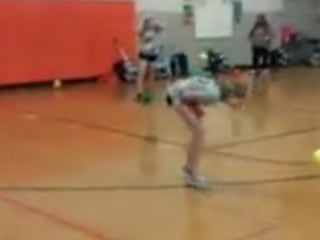 What Happens When You Bring Softball Player to Dodgeball Fight