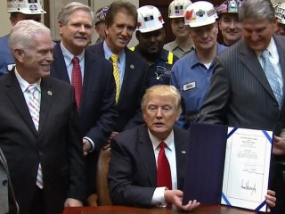 President Trump Keeps Promise to Coal Industry