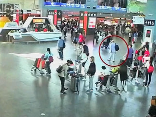 'Moment Kim Jong Nam Attacked' Caught on Camera