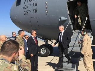 Defense Secretary Mattis Tells Iraq: U.S. Not Here To Seize Anybody's Oil
