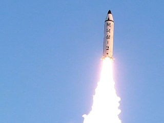 Watch North Korea Test-Fire Ballistic Missile