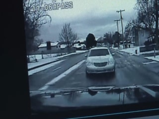 Dashcam Shows Doggy-Distracted Driver's Crash