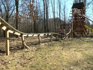 Need for Speed: Wisconsin Teens Build Backyard Roller Coaster