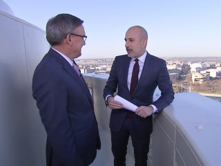 See Breathtaking View from Capitol with Matt Lauer