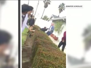 Off-duty officer fires gun during confrontation with teens, sparking protests