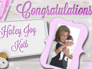 Hoda Kotb adopted a baby girl! Meet Haley Joy
