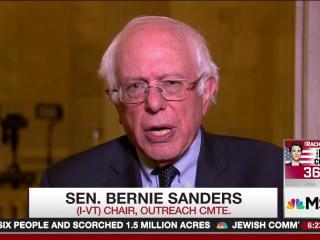 Bernie Sanders Sounds Off on Trumpcare