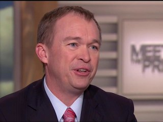 OMB Dir. Mulvaney Defends Budget Blueprint That Won't Balance