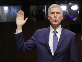 Supreme Court nominee Neil Gorsuch: Trump attacks on judges 'disheartening'