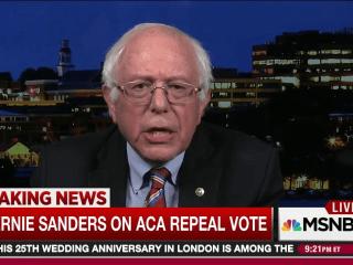Sanders: Trump broke working people promise