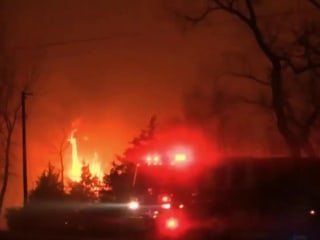 Massive Wildfires Devastate The Great Plains