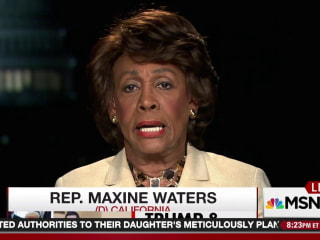 Rep. Maxine Waters on Right-Wing Crowd: 'I Cannot Be Intimidated'