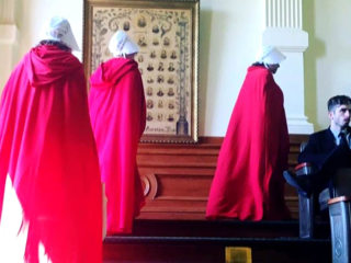 Women Protest Abortion Legislation Wearing 'Handmaid's Tale' Robes