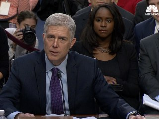 Gorsuch: I Would Have 'No Difficulty' Ruling Against the President