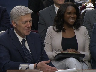 Gorsuch Accidently Says 'Bigly,' Senator Calls Him Out