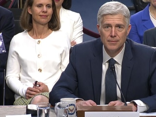 Gorsuch Thanks Judiciary Committee for Confirmation Process