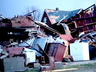 Death and Destruction as Tornadoes Tear Through Illinois
