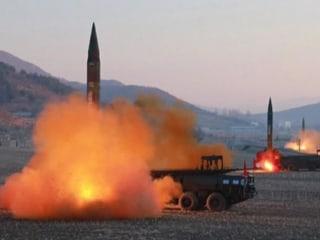 North Korea Shows Video of Ballistic Missile Test
