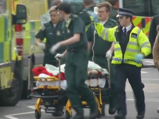 Watch: Immediate Aftermath of London Parliament Attack
