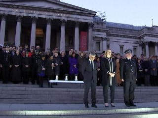 London Vigil Held for Victims of Terror Attack
