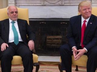 Iraq PM Al-Abadi Meets With Trump Cabinet