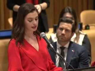 Anne Hathaway: 'Why Do We Continue To Overburden Mothers'