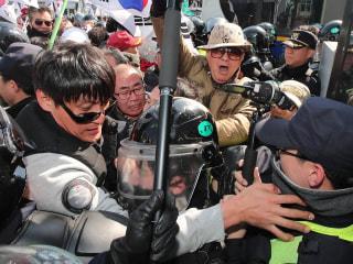 Violent Protests Erupt After Impeachment Ruling